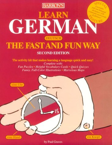 Learn German the Fast and Fun Way with Book (Barron's Fast and Fun Way Language Series) (...