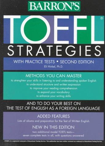 9780764102288: Toefl Strategies