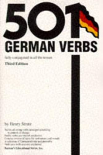 9780764102844: 501 German Verbs: Fully Conjugated in All the Tenses in a New Easy-To-Learn Format, Alphabetically Arranged
