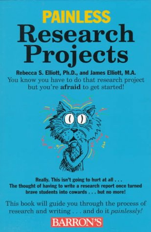 9780764102974: Painless Research Projects (Painless Series)