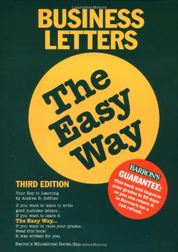 9780764103148: Business Letters the Easy Way (Easy Way Series)
