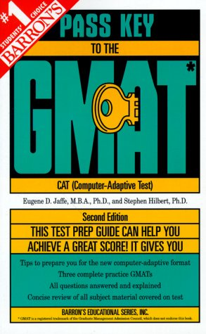9780764103155: Barron's Pass Key to the Gmat: Computer-Adaptive Graduate Management Admission Test