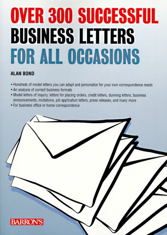 9780764103223: Over 300 Successful Business Letters for All Occasions