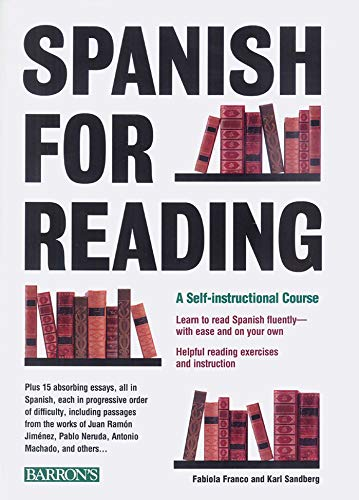 9780764103339: Spanish for Reading: A Self-Instructional Course (Barron's Foreign Language Guides)