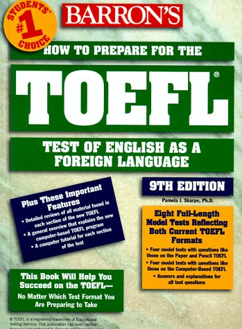 9780764103995: HOW TO PREPARE FOR THE TOEFL. 9th edition (Barron's How to Prepare for the Toefl Test of English As a Foreign Language (Book Only))