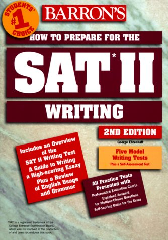 9780764104633: Barron's How to Prepare for the Sat II: Writing (Barrons How to Prepare for the Sat II Writing, ed 2)