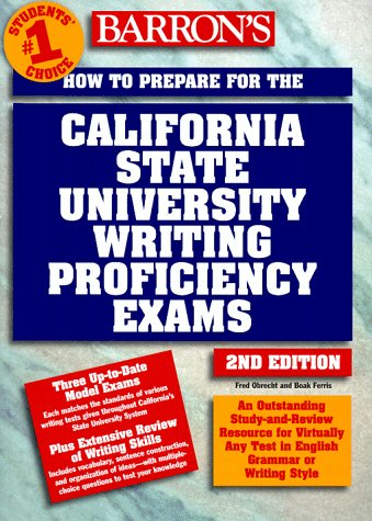 9780764104640: How to Prepare for the California State University Writing Proficiency Exams
