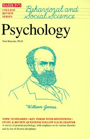 Psychology (Barron's College Review Series): Don Baucum