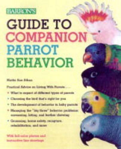 9780764106880: Guide to Companion Parrot Behavior