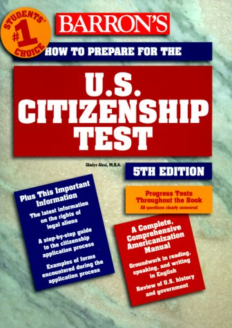 9780764107672: How to Prepare for the U.S. Citizenship Test (Barron's United States Citizenship Test)