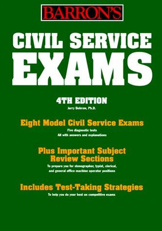 Civil Service Exams (Barron's Civil Service Clerical Exams): Bobrow, Jerry