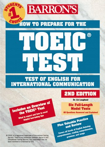 9780764108778: How to prepare for the TOEIC Test  2ème édition: Test of English for International Communication