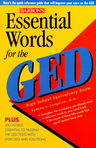 9780764108822: Essential Words for the GED