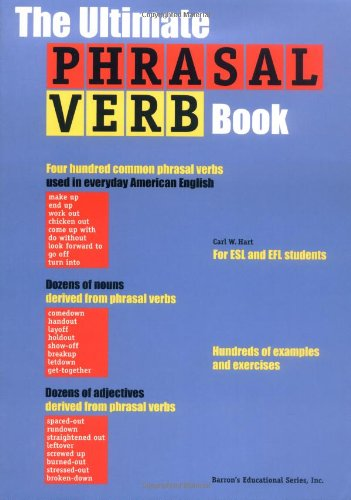 9780764110283: The Ultimate Phrasal Verb Book