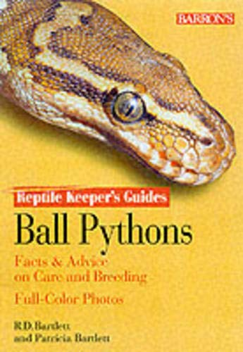9780764111242: Ball Pythons Ball Pythons (Reptile keepers guides)