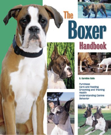 9780764112447: Boxer Handbook (Pet Handbooks)