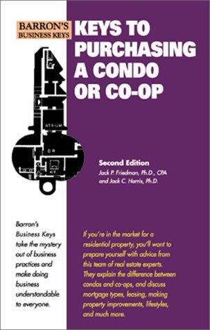 9780764113055: Keys to Purchasing a Condo or CO-OP (Barron's Business Keys)