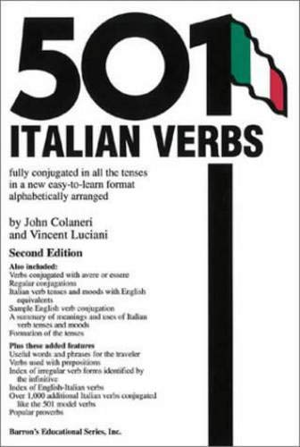 9780764113482: 501 Italian Verbs: Fully Conjugated in All the Tenses in a New Easy-To-Learn Format Alphabetically Arranged