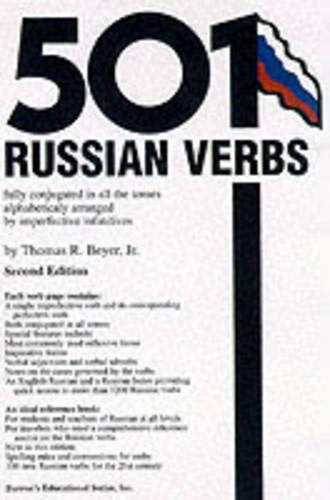 9780764113499: 501 Russian Verbs: Fully Conjugated in All the Tenses, Alphabetically Arranged (Barrons)