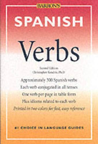 9780764113574: Spanish Verbs (Barron's Verbs Series)