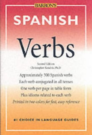 9780764113574: Spanish Verbs (Barron's foreign language verbs)