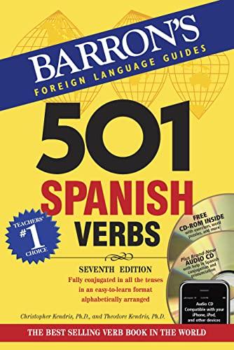 9780764113574: Spanish Verbs (Barron's Verbs Series)