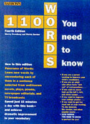 1100 Words You Need to Know (Barron's: Murray Bromberg, Melvin
