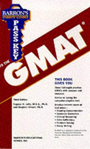 9780764113741: Barron's Pass Key to the Gmat: Computer-Adaptive Graduate Management Admission Test