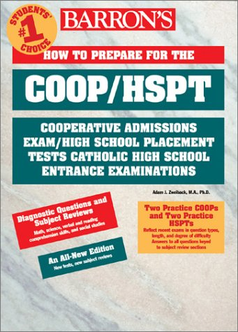 9780764113772: Barron's How to Prepare for the Coop/Hspt (BARRON'S HOW TO PREPARE FOR CATHOLIC HIGH SCHOOL ENTRANCE EXAMINATIONS COOP/HSPT)