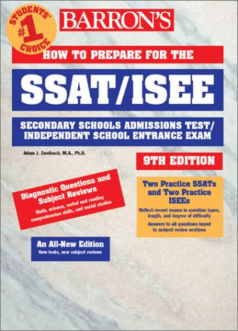 9780764113802: How to Prepare for the SSAT/ISEE (Barron's How to Prepare for the SSAT/ISEE)