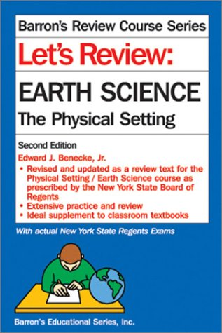 9780764113918: Let's Review: Earth Science---The Physical Setting