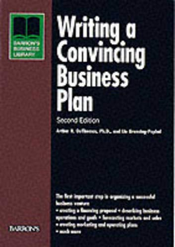 9780764113994: Writing a Convincing Business Plan (Business Library Series)