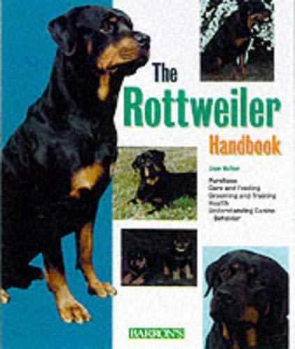 9780764116421: Rottweiler Handbook, The (Barron's Pet Handbooks)