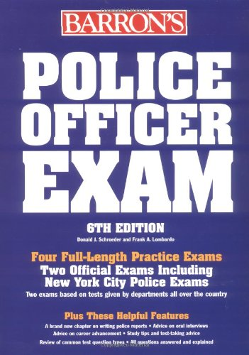 9780764116629: Barron's Police Officer Exam (BARRON'S HOW TO PREPARE FOR THE POLICE OFFICER EXAMINATION)