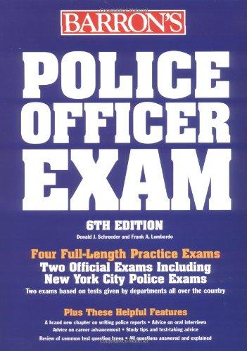 9780764116629: Barron's Police Officer Exam