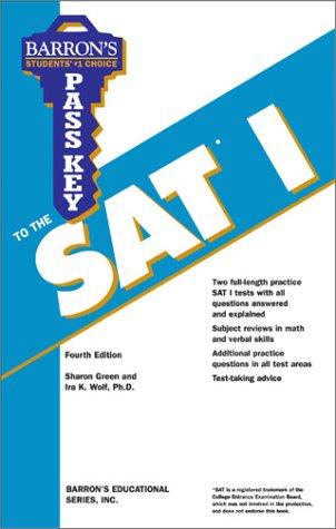 9780764116636: Barron's Pass Key to the Sat I