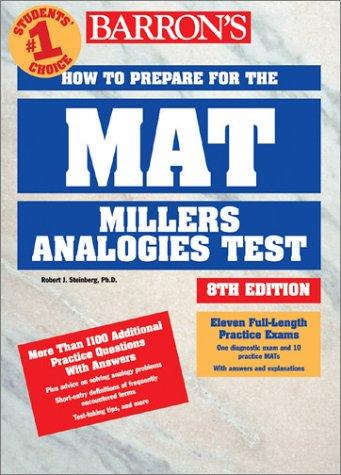Barron's How to Prepare for the Mat: Robert J. Sternberg