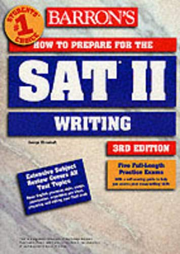9780764116896: How to Prepare for the SAT II Writing (Barron's How to Prepare for the SAT II: Writing)