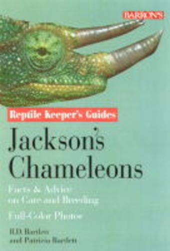 9780764117039: Jackson's and Veiled Chameleons: Facts & Advice on Care and Breeding (Reptile and Amphibian Keeper's Guides)