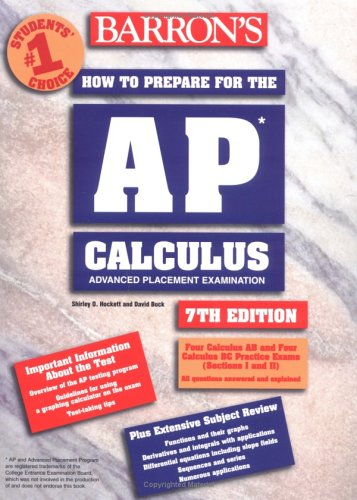 9780764117909: How to Prepare for the AP Calculus (Barron's AP Calculus)