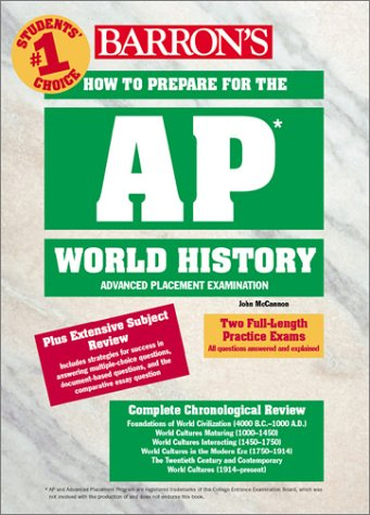 9780764118166: How to Prepare for the AP World History (Barron's AP World History)