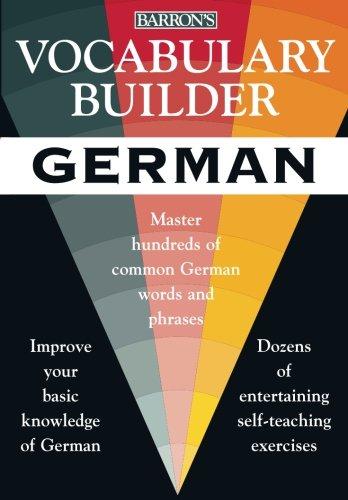 9780764118234: Vocabulary Builder: German: Master Hundreds of Common German Words and Phrases (Vocabulary Builder Series)