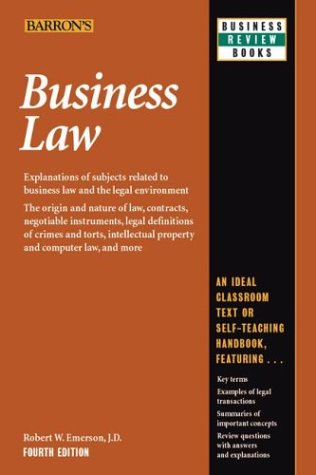 9780764119842: Business Law