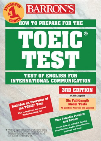 9780764120497: How to Prepare for the TOEIC Test (Barron's TOEIC Test)