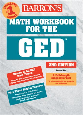 9780764120565: Math Workbook for the GED (Barron's Math Workbook for the Ged)