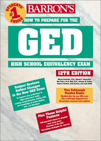 9780764121203: How to Prepare for the GED (BARRON'S HOW TO PREPARE FOR THE GED HIGH SCHOOL EQUIVALENCY EXAM (BOOK ONLY))