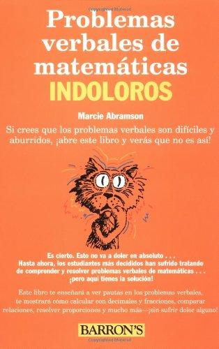 9780764121449: Problemes Verbales De Mathematicas Indoloros