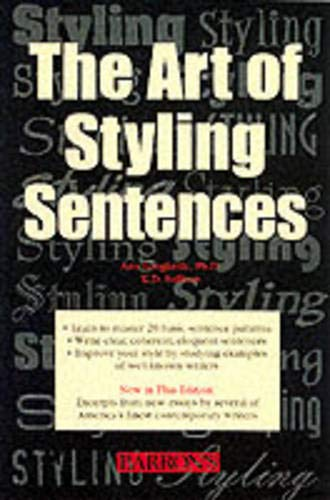 9780764121814: The Art of Styling Sentences