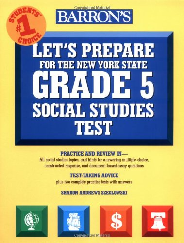 9780764122774: Let's Prepare for the Grade 5 Social Studies Test (Barron's Let's Prepare for the Grade 5 Social Studies Test)