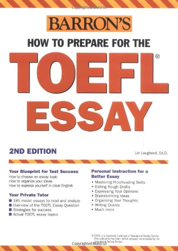 9780764123139: Barron's How to Prepare for the Toefl Essay: Test of English As a Foreign Language
